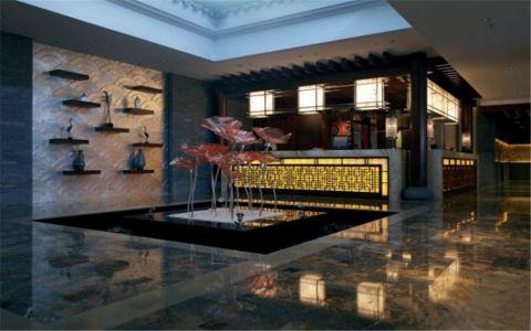 新古典酒店工装u乐娱乐平台设计案例