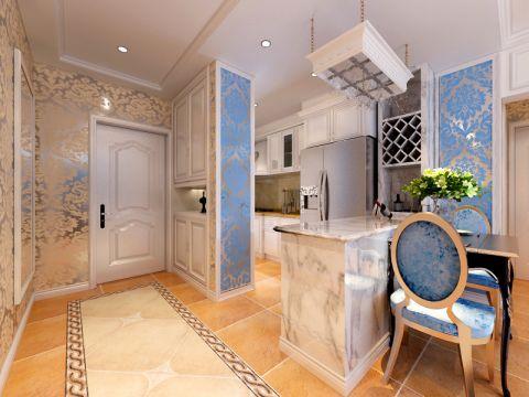 【金地铂悦】两室两厅法式风格效果图