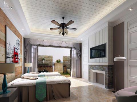 2020现代简约90平米效果图 2020现代简约三居室装修设计图片