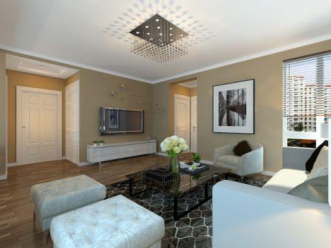 信达小区三居室现代简约风格