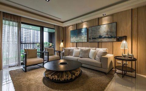 质感设计227平米简约时尚之家