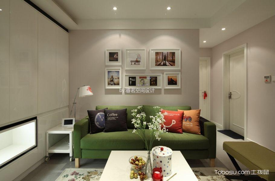 美式 88平2居室效果图