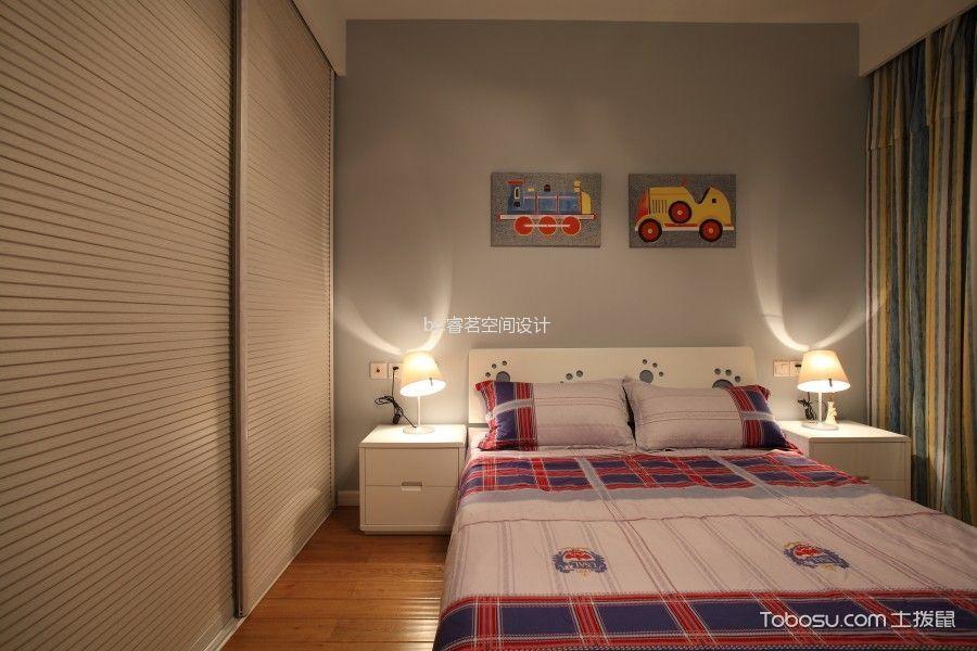 现代96平2居室效果图