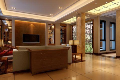 圣地雅歌别墅新中式风格 设计效果图