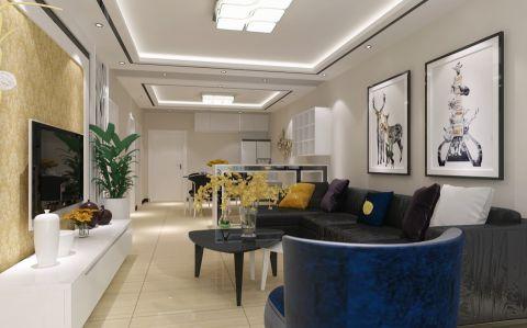 2020現代150平米效果圖 2020現代三居室裝修設計圖片