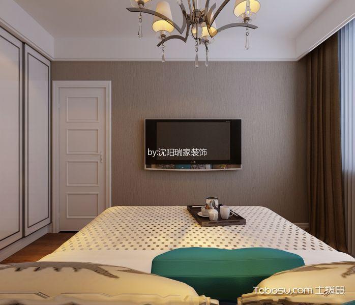 【金港天府】50平一室两厅现代风格效果图