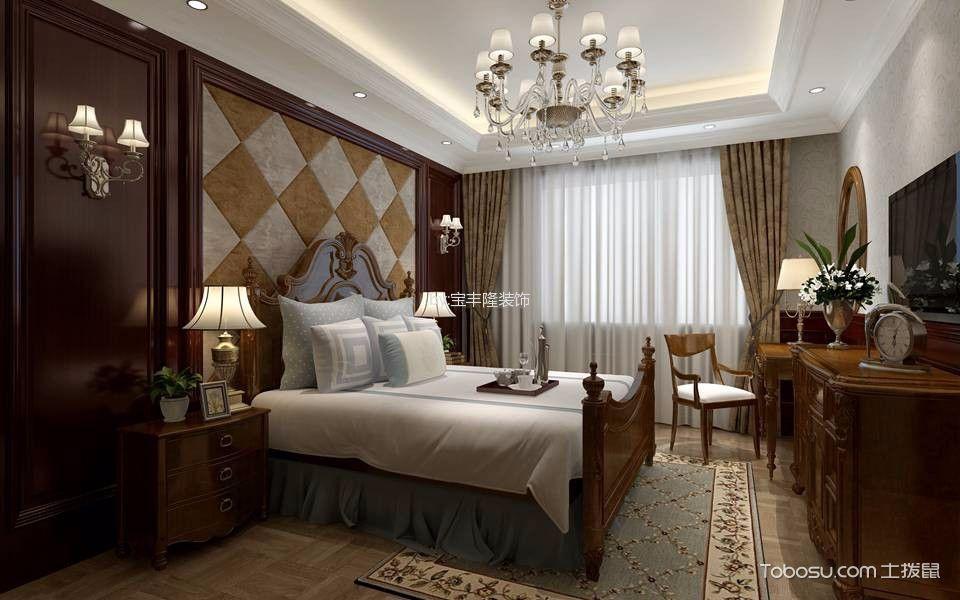卧室灰色榻榻米欧式风格装修图片