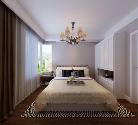 万科香湖盛景120平三室两厅港式风格效果图