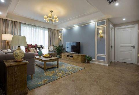 洋丰圣乔维斯四居室新中式效果图