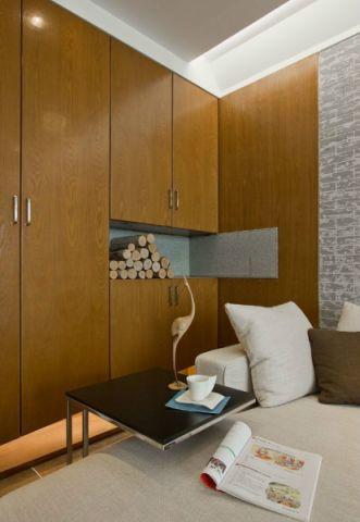 银翔后住日式风格三居室装修效果图