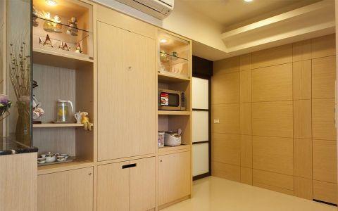 日式风格二居室装修实景图片