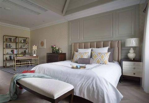 卧室简欧风格装潢图片