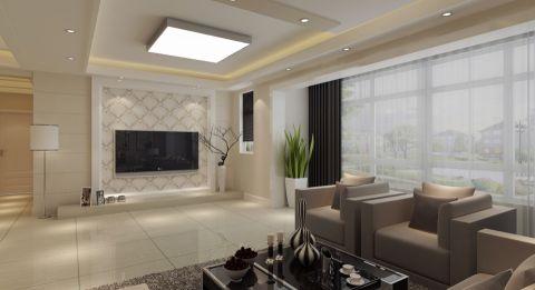 【运河湾】150平米四室两厅现代风格鉴赏