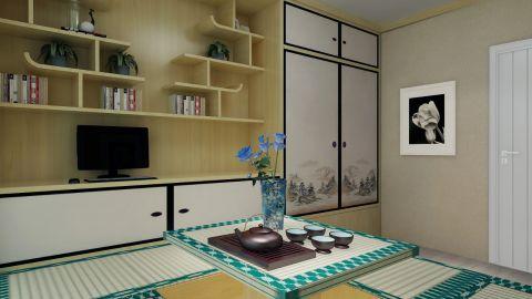 客厅榻榻米现代风格效果图