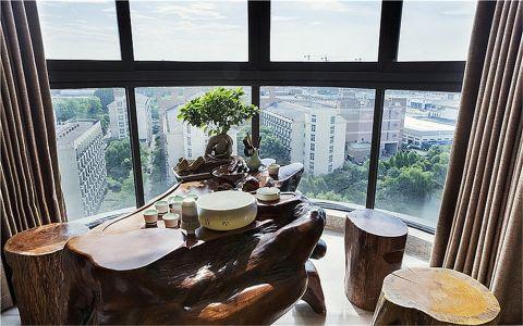 阳台新中式风格装潢图片
