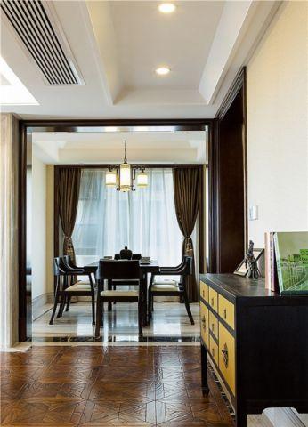 餐厅新中式风格装饰设计图片