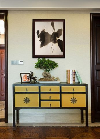 客厅新中式风格装潢设计图片