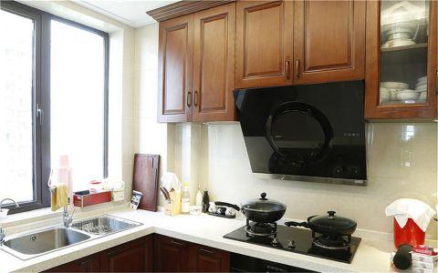 厨房新中式风格装修效果图