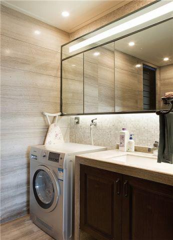 卫生间新中式风格装潢效果图