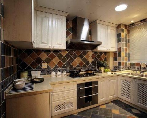 厨房地中海风格装修设计图片