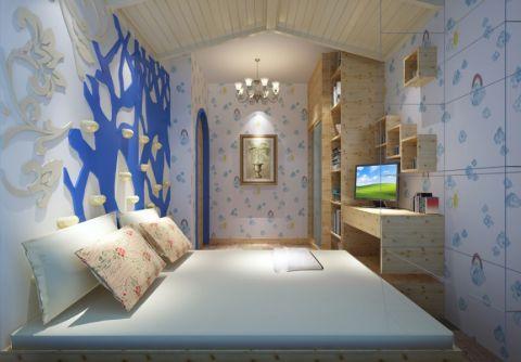 儿童房地中海风格装饰图片
