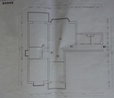 客厅现代中式风格装修效果图