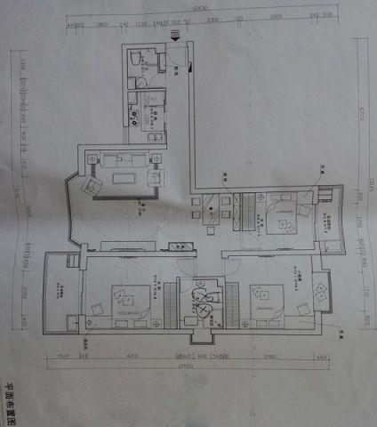 客厅现代中式风格装饰效果图