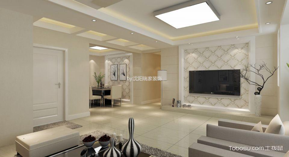【运河湾3号】150㎡四室两厅现代风格效果图