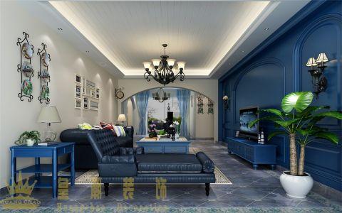 地中海风格200平米复式室内装修效果图