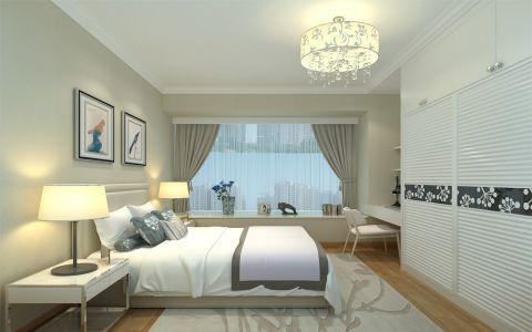 卧室简约风格装潢设计图片