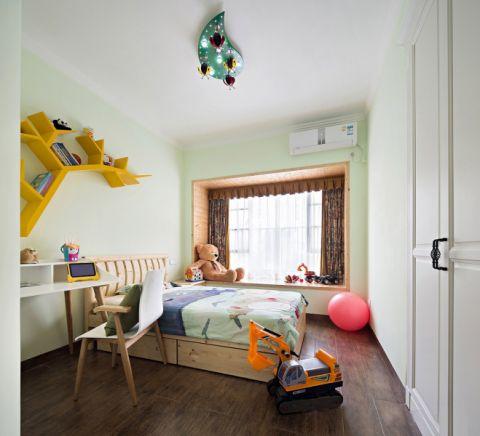 卧室照片墙混搭风格装饰图片