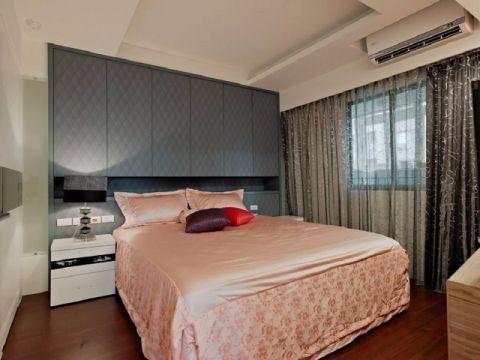 卧室现代简约风格装饰效果图