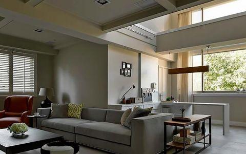 【8万】loft户型两房两厅84平米装修效果图