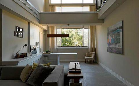 客厅吧台简约风格装潢设计图片