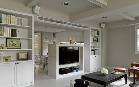 客厅吊顶简约风格装修效果图