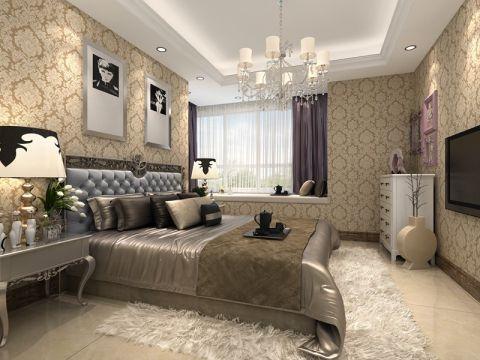 白桦林印象简约两居室效果图