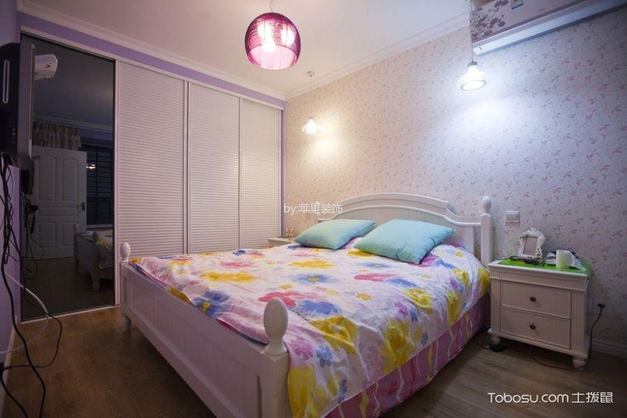卧室白色衣柜北欧风格装修图片