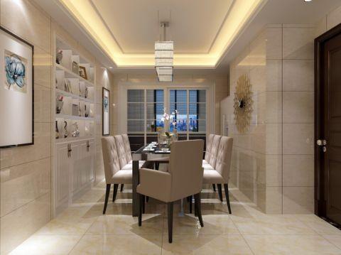 餐厅走廊简约风格装潢设计图片