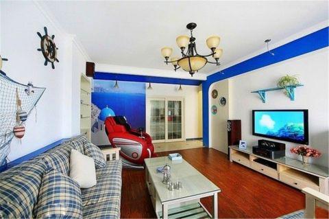 浦湾公馆地中海的风格效果图