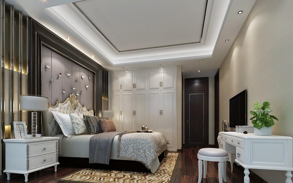 3室2卫1厅92平米简约风格