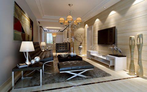 空间的简约气质得益于对现代东方元素的统一规划,90%的生活元素体现了现代人的生活主旨10%装饰手法体现了时代感,展现了特立独行的空间性格。