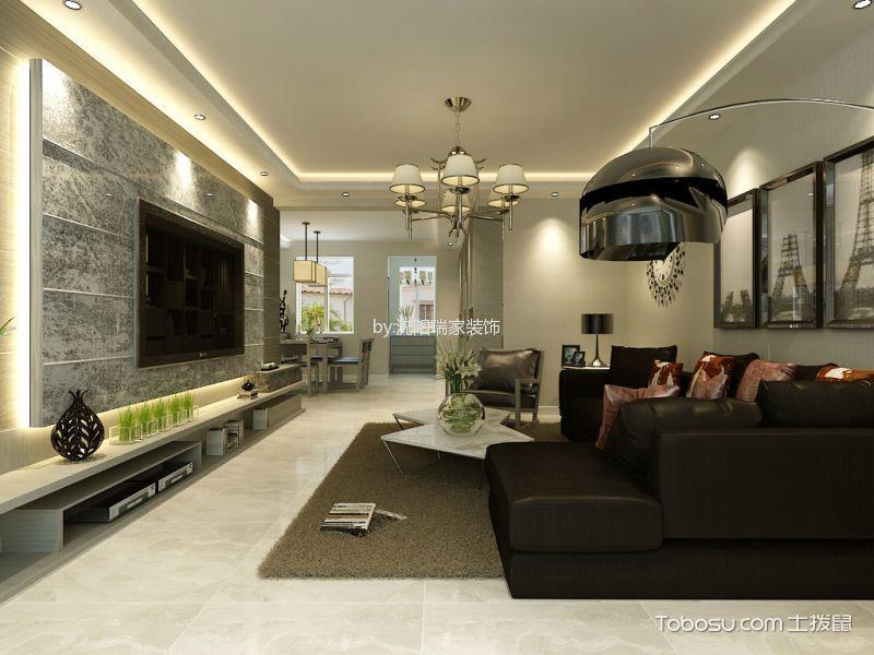 【龙湖花千树】三室两厅现代风格效果图