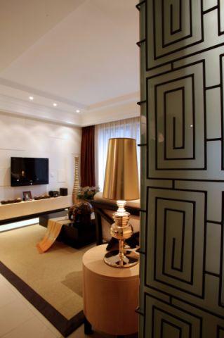 丹霞翠微苑三室两厅东南亚风格装修效果图
