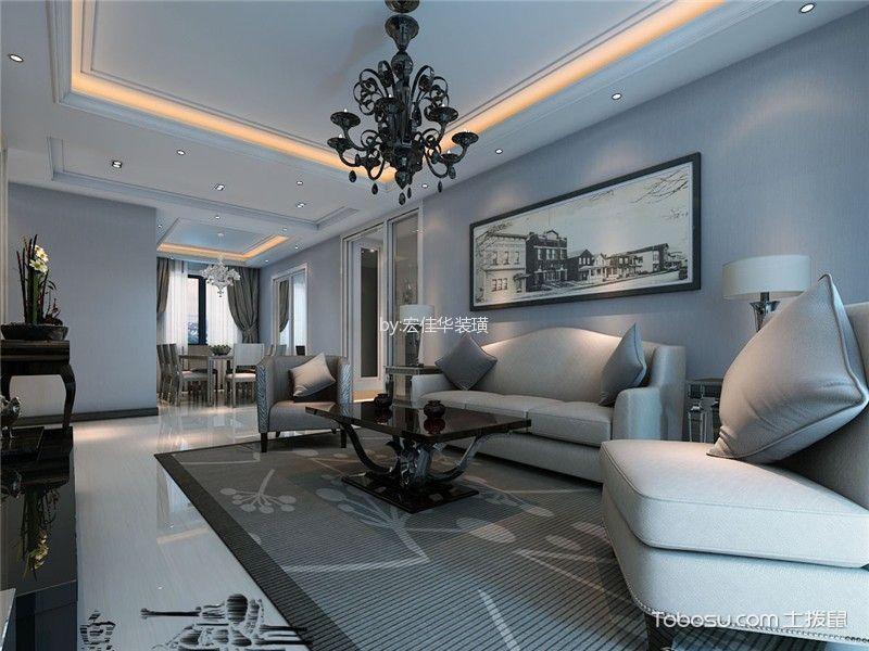 简欧风格210平米大户型室内装修效果图