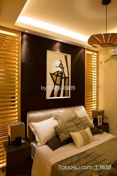 2020日式卧室装修设计图片 2020日式照片墙效果图