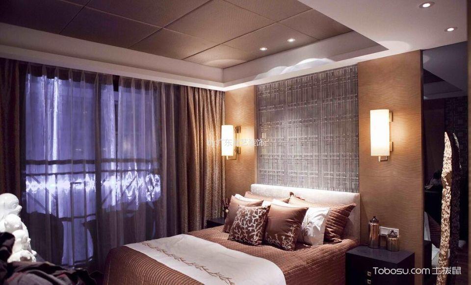 2020中式卧室装修设计图片 2020中式床装修效果图片