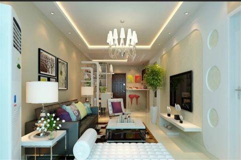 2021现代简约100平米图片 2021现代简约楼房图片