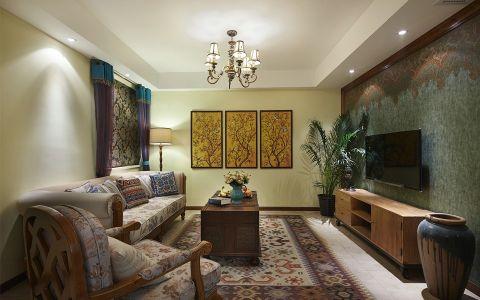 2021东南亚120平米装修效果图片 2021东南亚公寓装修设计