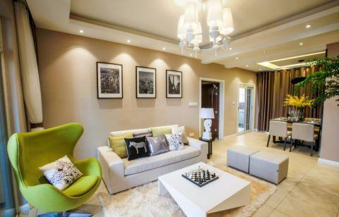 2021美式80平米设计图片 2021美式二居室装修设计