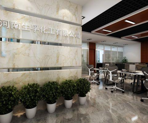 郑州高新区升龙又一城300平办公室工装装饰效果图欣赏(主案设计师刘涛、潘腾飞)